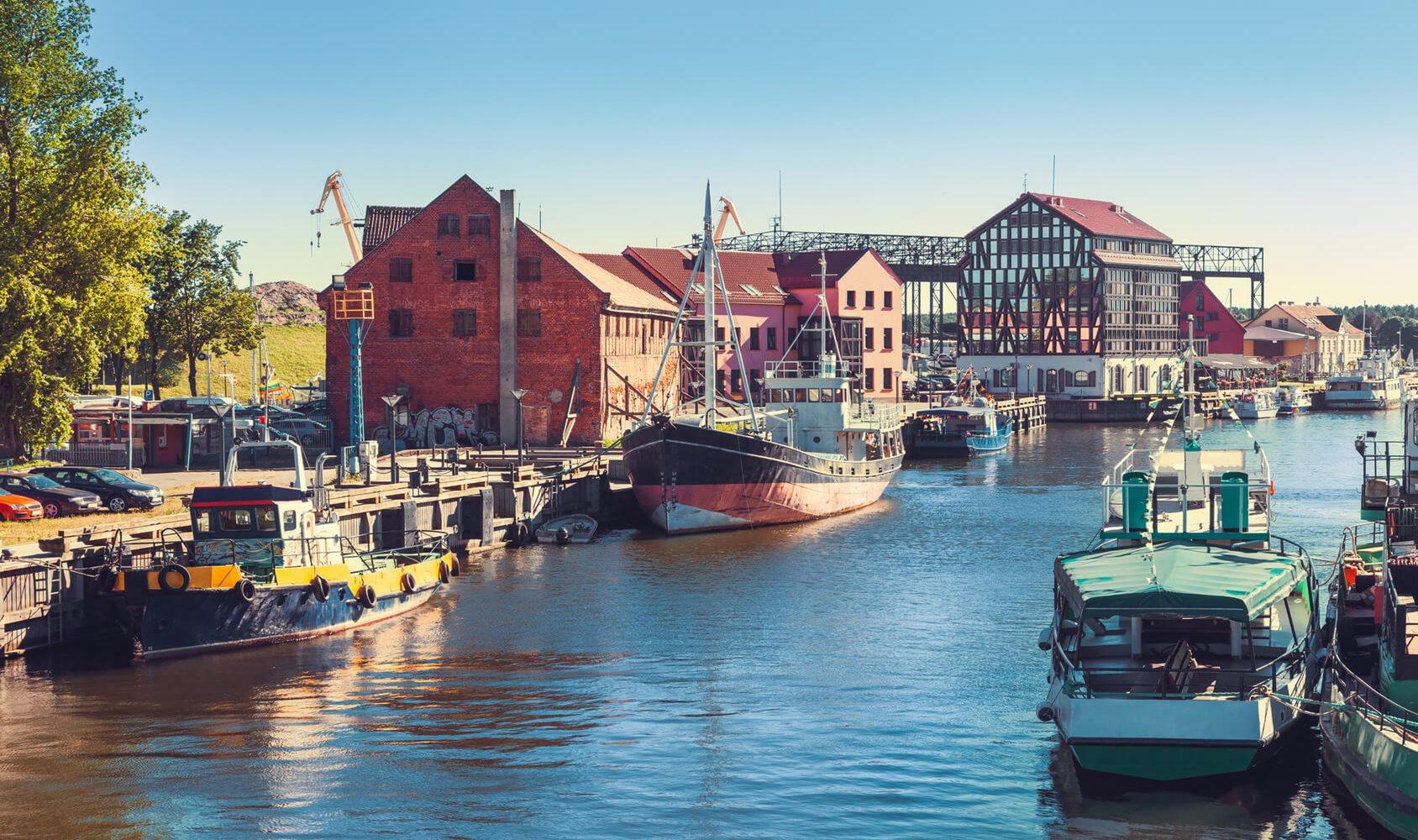 Rent a boat in Klaipeda