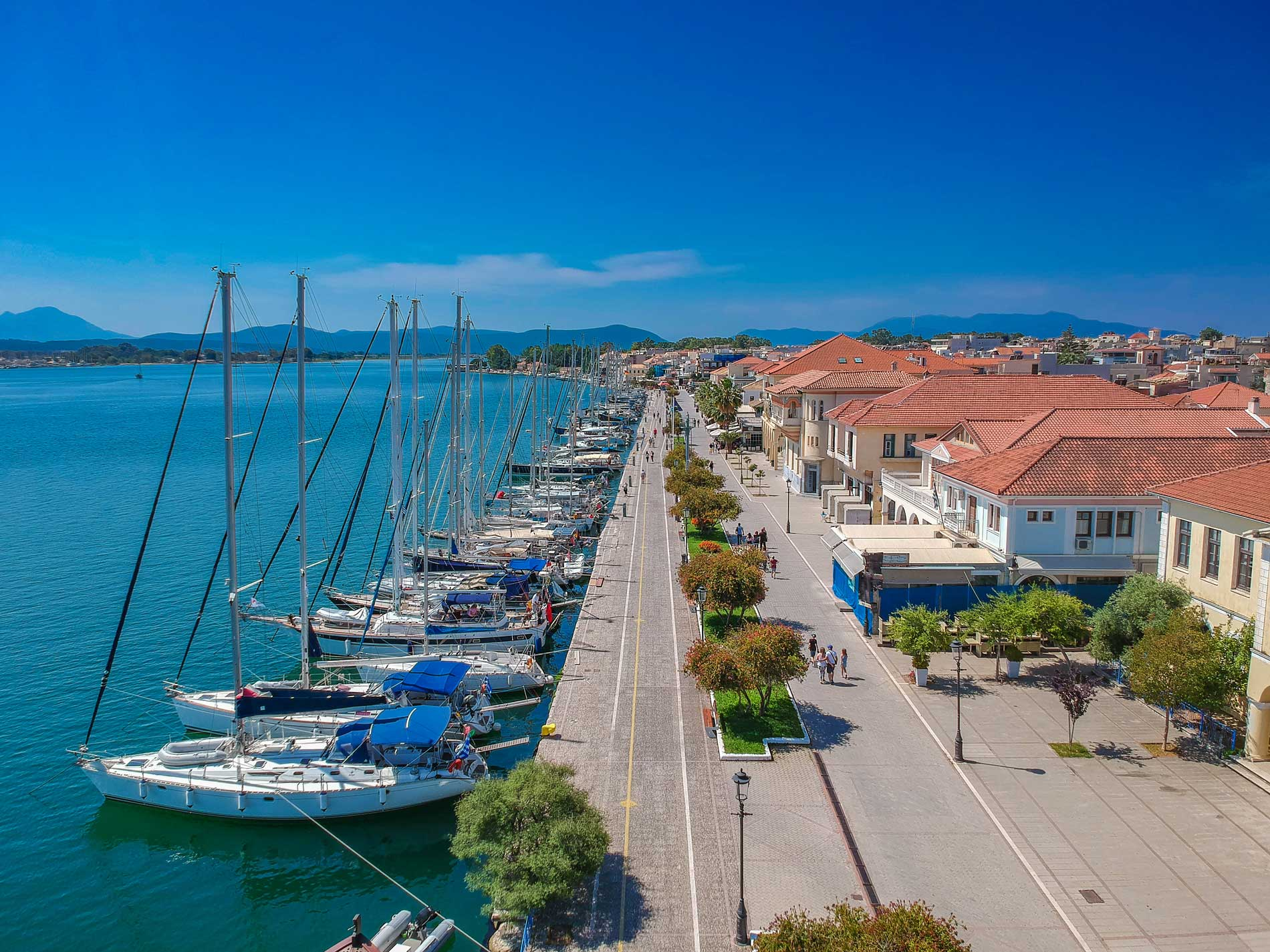 sailing yacht charter from Preveza in the Ionian