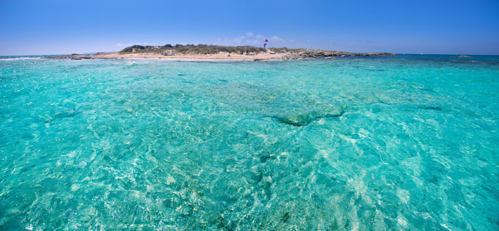 Espalmador - Caribbean-like beaches on the Balearics
