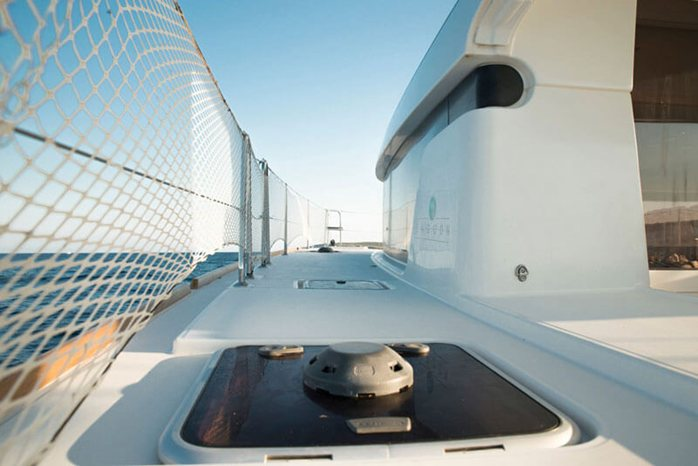 Catamaran Deck of Lagoon 39