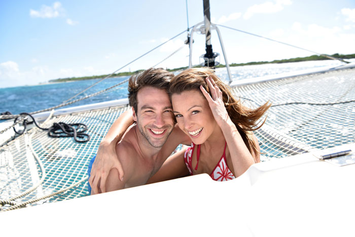 Honeymoon on a Catamaran Cruise
