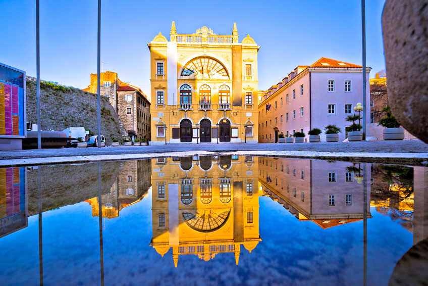 Beautiful Arquitecture of Split City Centre