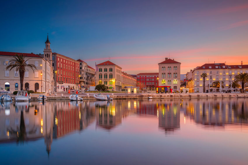 Harbor Promenade of Split