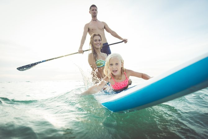 Stand Up Paddle Boarding - Extra fun on your charter holiday