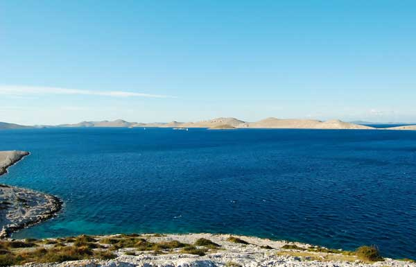 Kornati Archipelago - Sailing sheltered waters
